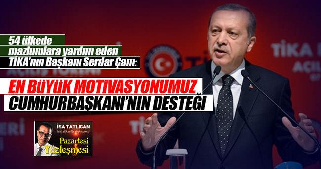Mazlumların ümidi Türkiye