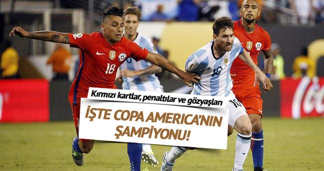 Copa America'da şampiyon Şili!