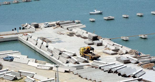 30 milyon TL'lik liman 2 bin istihdam yaratacak