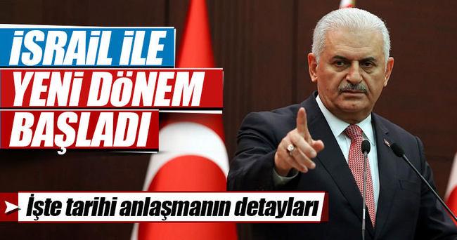 İşte Türkiye-İsrail anlaşmasının detayları