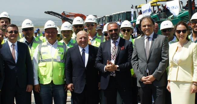 TAV, Tiflis Havalimanı yeni terminalinin temelini attı