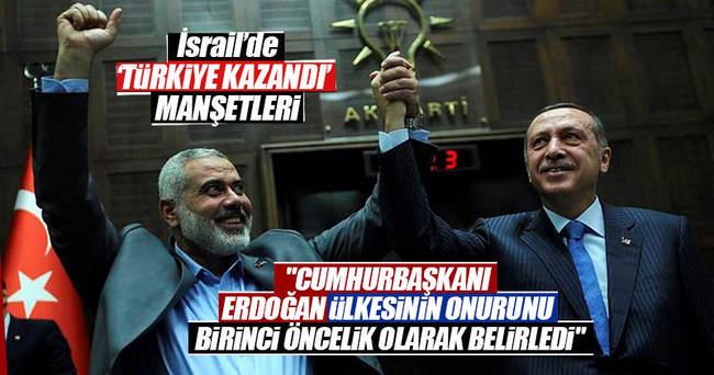İsrail basını: Türkiye zafer kazandı