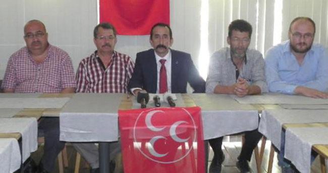 MHP'nin 5 ilçe başkanı istifa etti