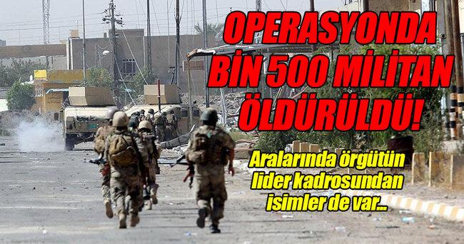 'Felluce operasyonunda bin 500 DAEŞ'li öldürüldü'