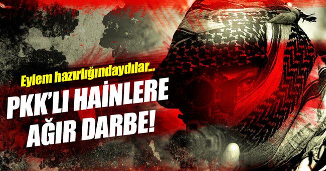 Eylem hazırlığındaki 2 PKK'lı ölü ele geçirildi!