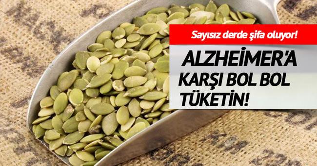 ALZHEİMER'A KARŞI BOL BOL TÜKETİN!
