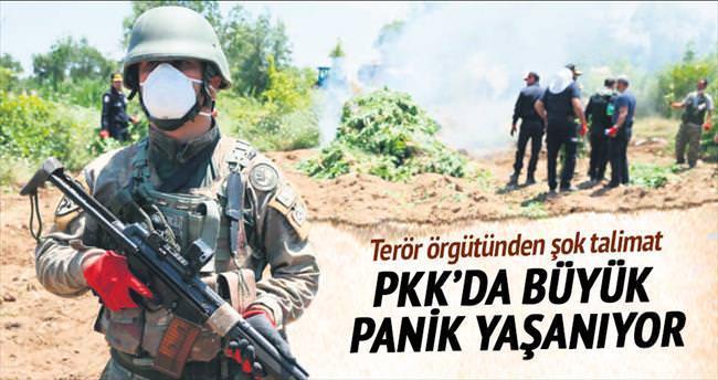 PKK'da panik
