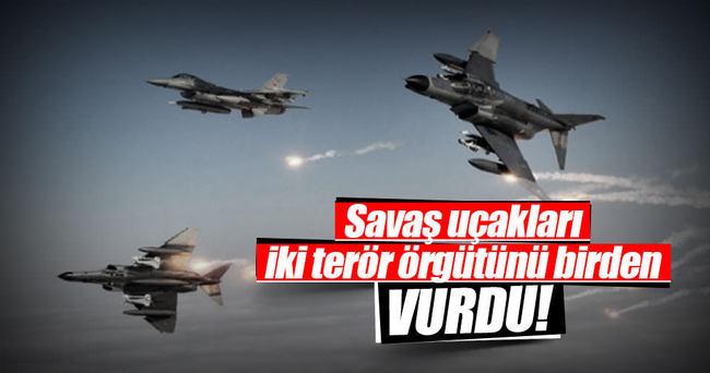 TSK, PKK'ya ve DAEŞ'e operasyon düzenledi