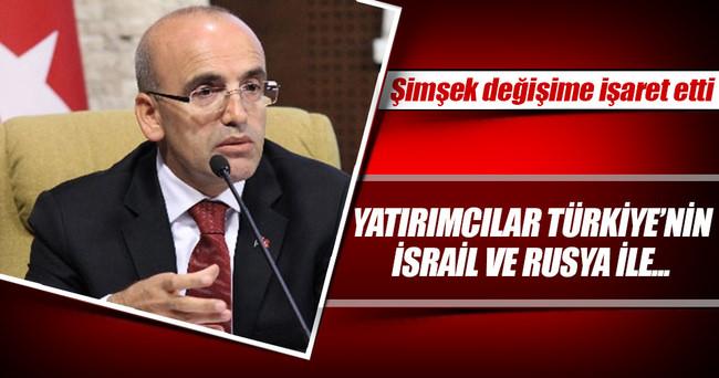 Şimşek: Global yatırımcılar Türkiye'nin İsrail ve Rusya sürecine olumlu bakıyor