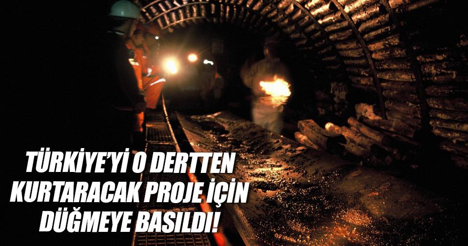 Kömürden doğalgaz üretimi için düğmeye basıldı!