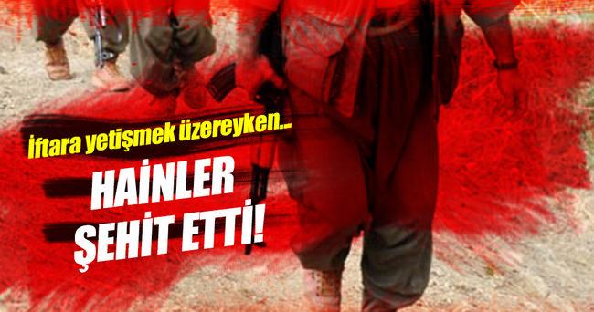 Bismil'de Uzman çavuşa hain saldırı