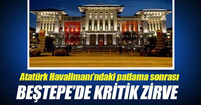 Patlama sonrası Beştepe'de kritik zirve!