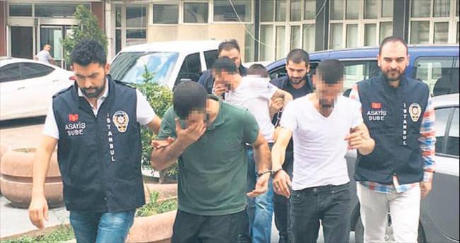 İki hırsızlık çetesi çökertildi: 62 gözaltı