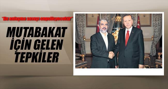 Hamas'tan Erdoğan'a ve Türkiye'ye teşekkür
