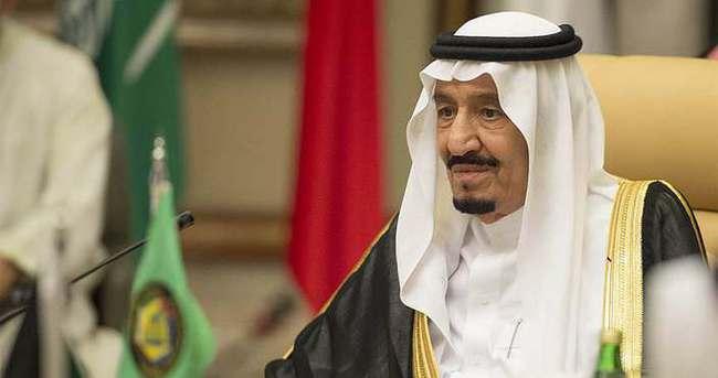 Suudi Arabistan Kralı Selman'dan, Cumhurbaşkanı Erdoğan'a taziye