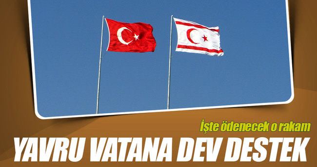 Türkiye'den KKTC'ye hibe ve kredi desteği