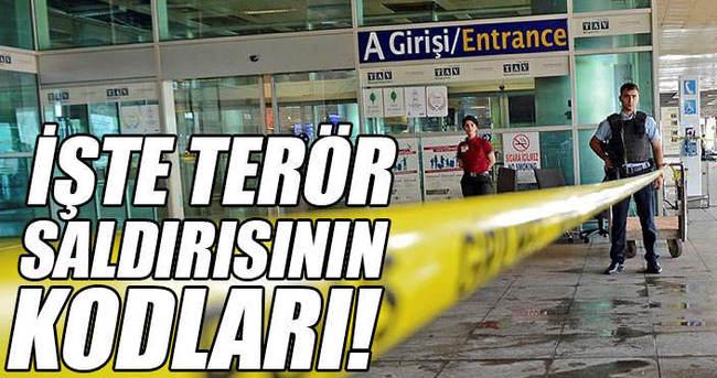 Terör saldırısının kodları