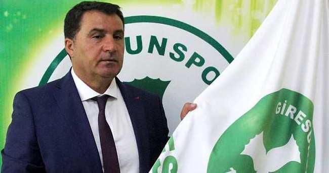 Giresunspor Mustafa Kaplan ile anlaştı