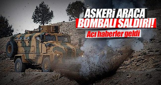 PKK'dan askeri araca bombalı saldırı