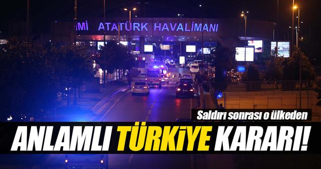 İsveç'ten anlamlı Türkiye kararı