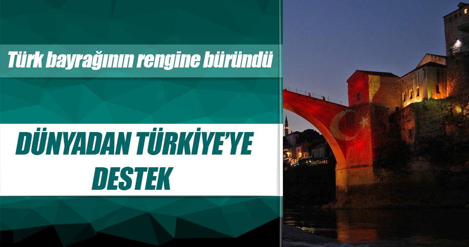 Türkiye'ye dünyadan destek