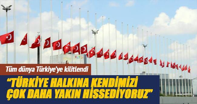 Tüm dünya Türkiye'ye kilitlendi