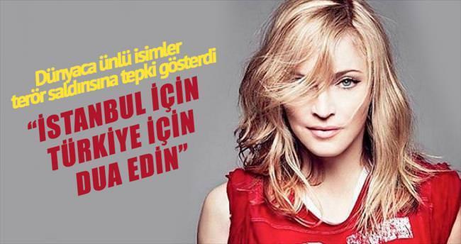 'İstanbul için, Türkiye için dua edin'