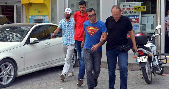 Sahte polisler, parayı çekmek için geldikleri PTT'de yakalandı