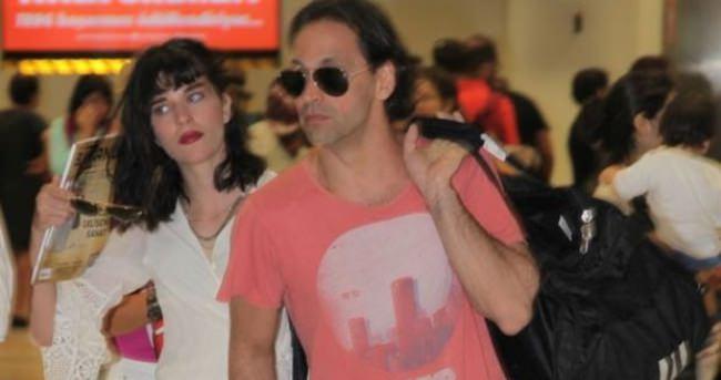 Kaan Tangöze ile sevgilisi de Atatürk Havalimanı'ndaydı