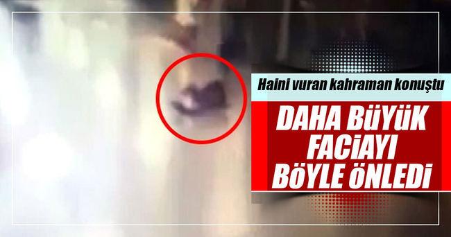 Atatürk Havalimanı saldırganını vuran polis konuştu