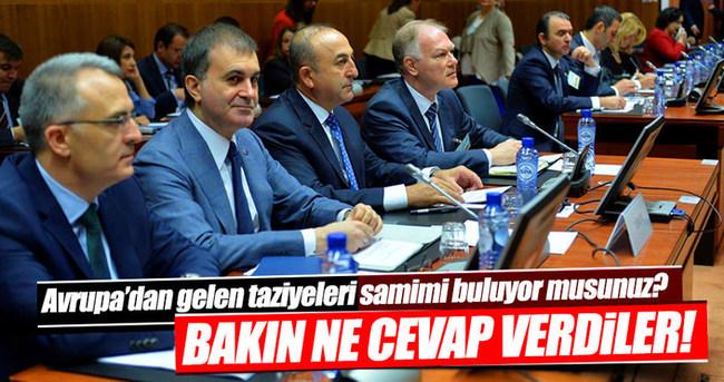 Bakan Çavuşoğlu o soruya bakın ne cevap verdi