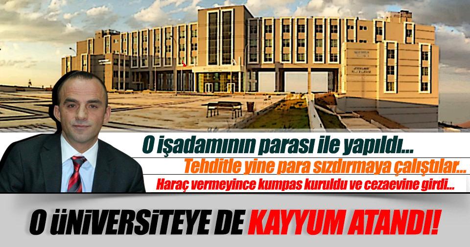 FETÖ'nün Başarı Üniversitesi'ne kayyum atandı