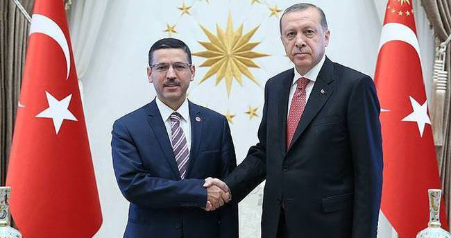 Erdoğan, Sayıştay Başkanı Baş'ı kabul etti