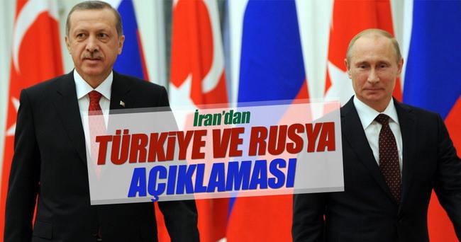 İran'dan Türkiye ve Rusya açıklaması