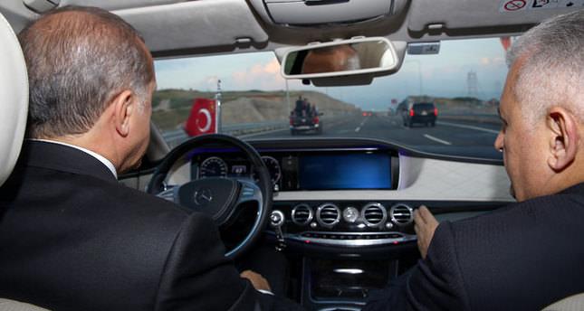 Erdoğan, Osmangazi'de direksiyona geçti