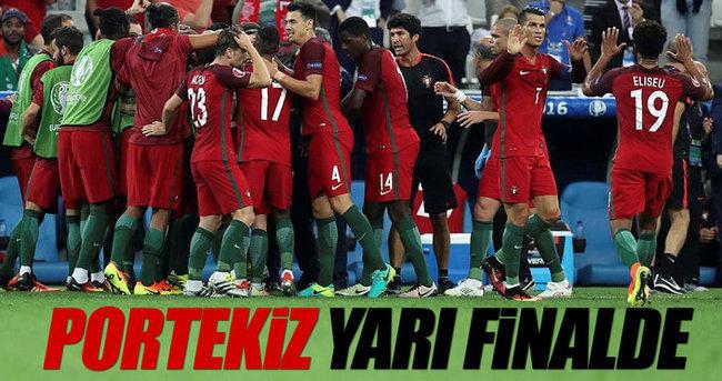 Portekiz yarı finalde