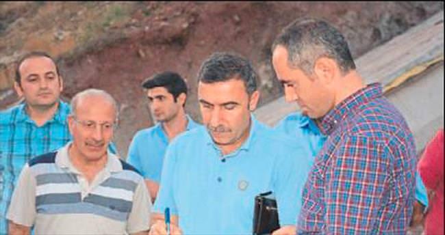 Adrasan Barajı sona yaklaşıyor