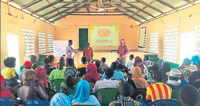 SANKO Holding'den Gambiya'ya yardım eli
