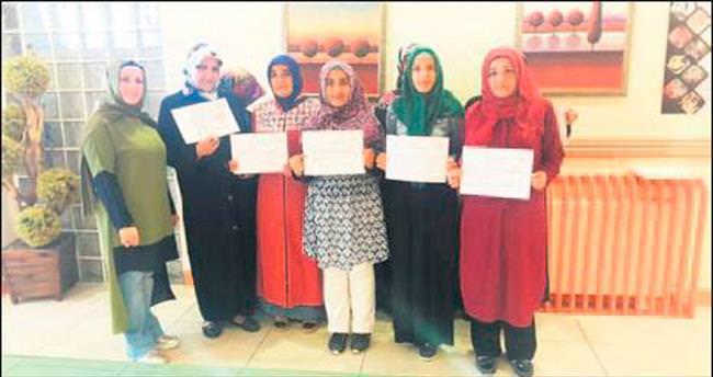 Arapça sertifikası törenle dağıtıldı