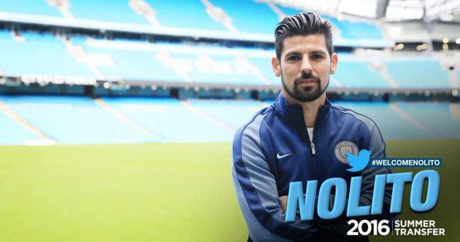 Manchester City, Nolito'yu kadrosuna kattı