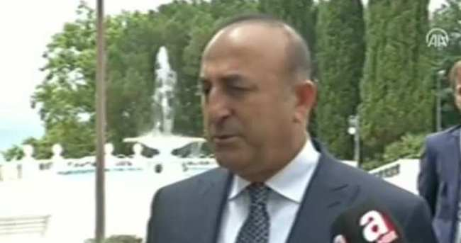 Mevlüt Çavuşoğlu Soçi'de