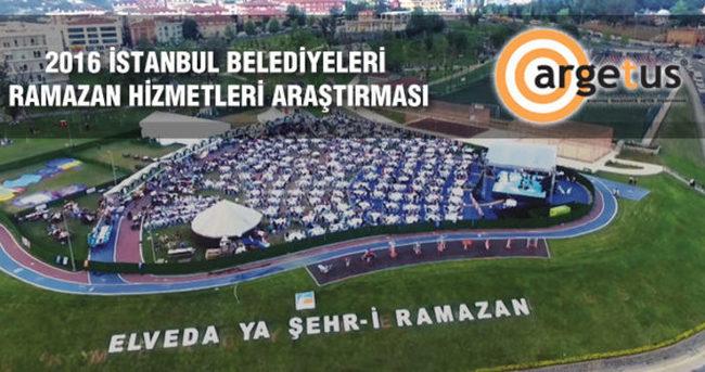 İstanbul'daki belediyeler, Ramazan hizmetleri için 300 Milyon TL harcadı