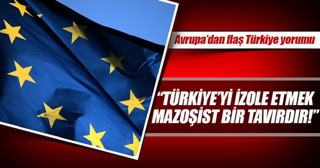"""İtalya Dışişleri Bakanı: """"Türkiye'yi izole etmek mazoşist bir tavırdır"""""""