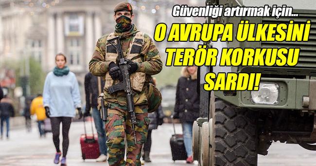 Brüksel'de terör korkusu!