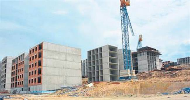 Yunuskent'te inşaatın yüzde 20'si yapıldı
