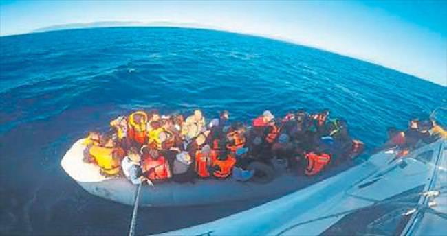 Son 6 ayda 26 bin göçmen kurtarıldı