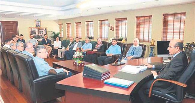 Başkan Fikret Yeni'den Vali Demirtaş'a ziyaret