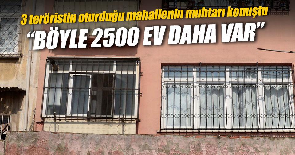 Böyle 2 bin 500 tane ev var