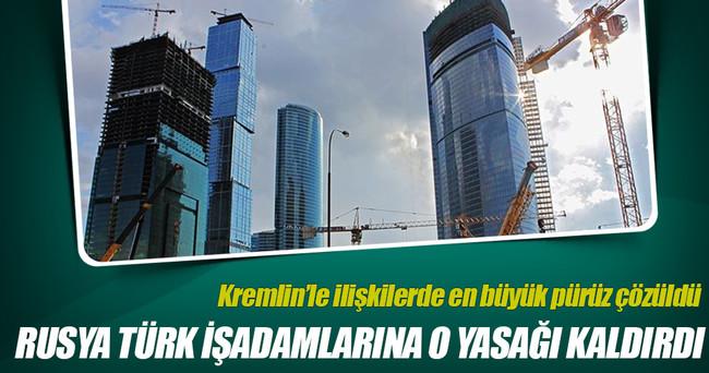 Türk inşaat firmaları Rusya'dan davet aldı