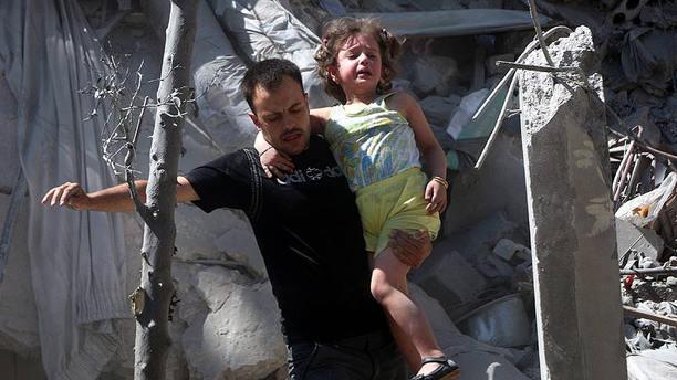 Esad rejimi Halep'te sivilleri vurdu: 5 ölü